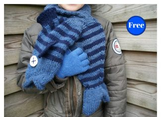 Scarfish Scarf Free Knitting Pattern