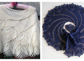 Swirl Lace Shawl Free Knitting Pattern