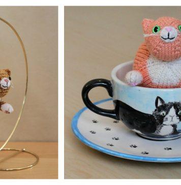 Wub Chub Cat Ornament Free Knitting Pattern
