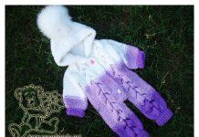 Baby Romper Free Knitting Pattern