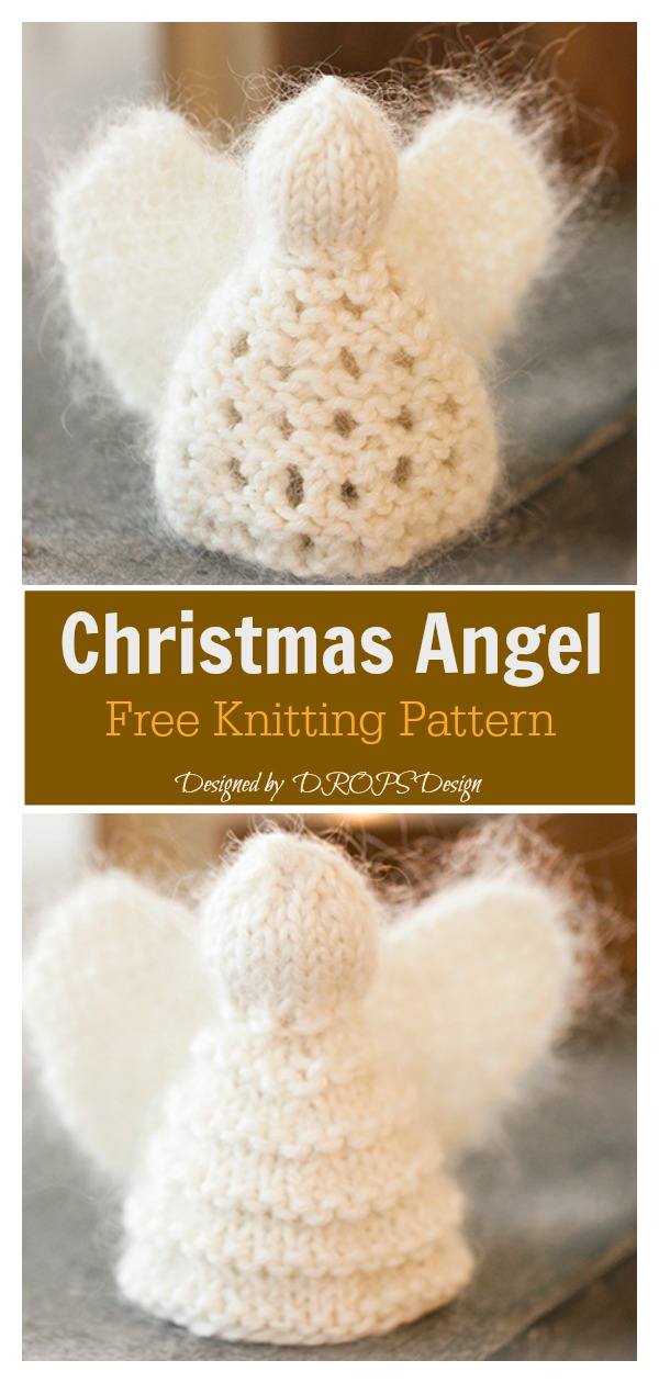 Christmas Angel Free Knitting Pattern