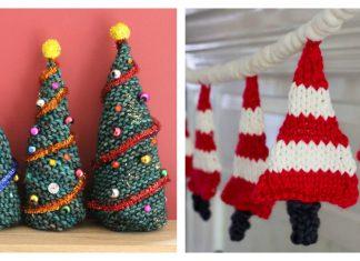 Easy Christmas Tree Free Knitting pattern