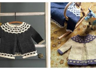 Mabel Baby Cardigan Free Knitting Pattern