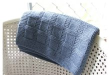 Sunny Baby Blanket Free Knitting Pattern