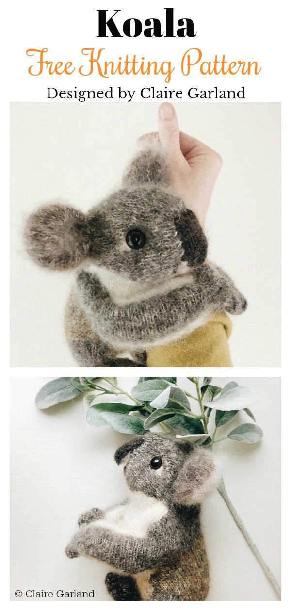 Amigurumi Koala Free Knitting Pattern