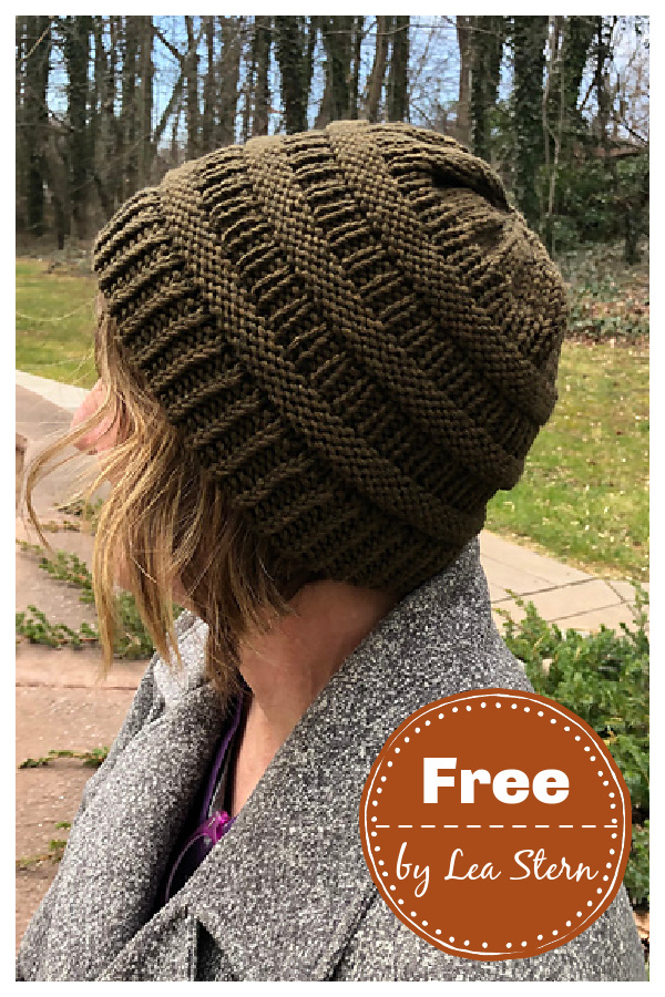 C.C Beanie Redux Free Knitting Pattern