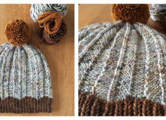 Feathered Hat Free Knitting Pattern