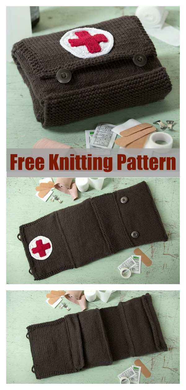 First Aid Kit Free Knitting Pattern