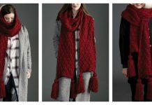 Make It Big Knit Super Scarf Free Knitting Pattern