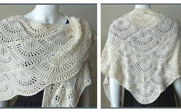 Ostro Lace Shawl Free Knitting Pattern