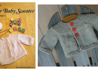 Quick Baby Sweater Free Knitting Pattern