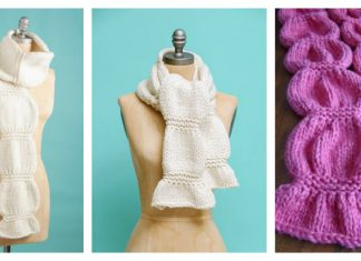 Scrunch Scarf Free Knitting Pattern