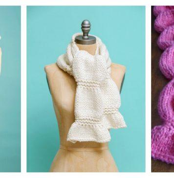 Scrunch Scarf Free Knitting Pattern