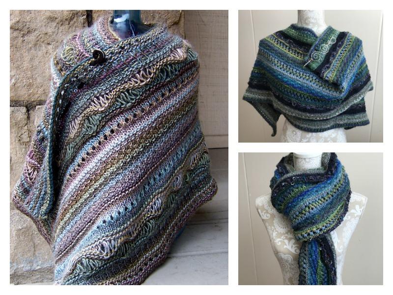 37c29536c Stitch Sampler Shawl Free Knitting Pattern