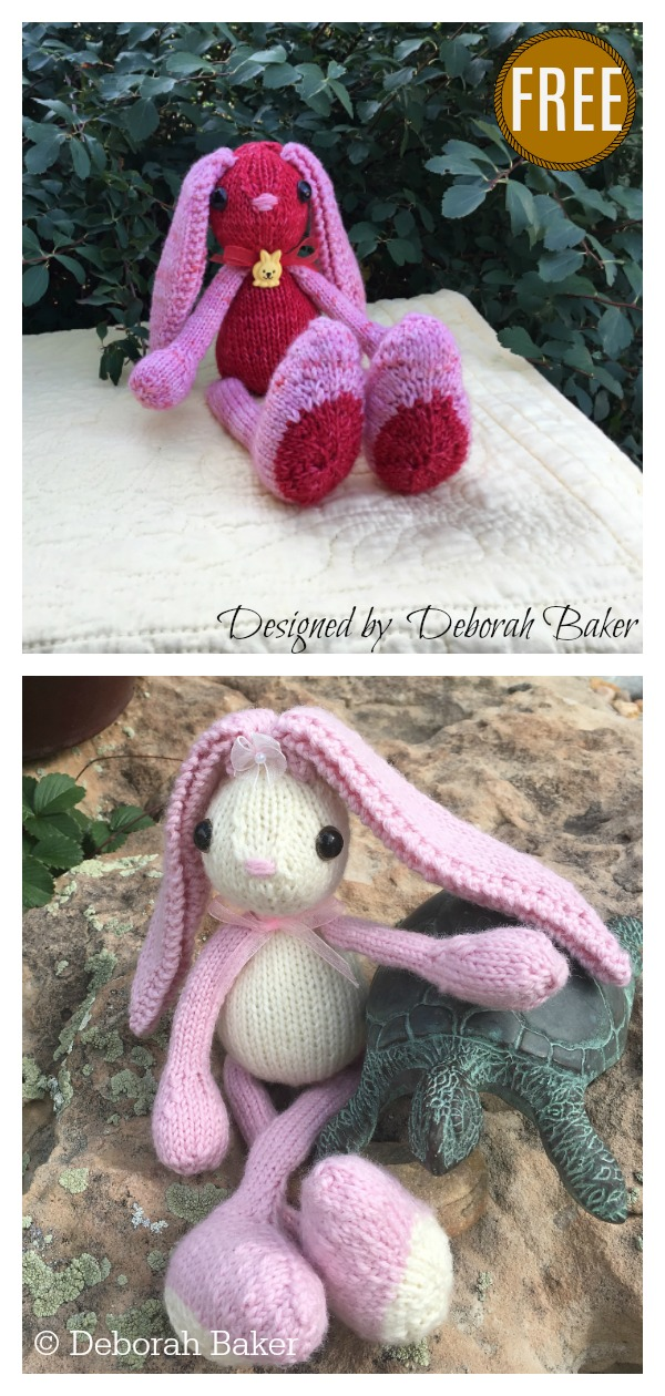 20+ Free Knitting Patterns for Easter Bunny to Download Now! | 1260x600