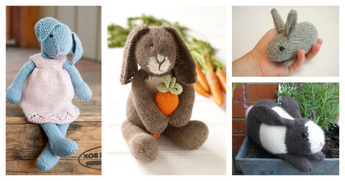 Retro Crochet Bunny Pattern - Crochet Society | 630x1200