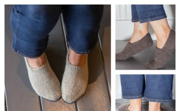 Chunky Slipper Socks FREE Knitting Pattern
