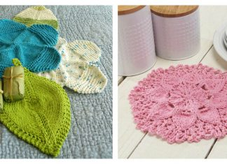 Flower Dishcloth FREE Knitting Pattern
