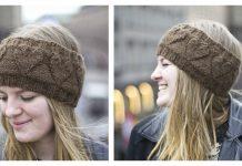 Heartsome Headband Free Knitting Pattern