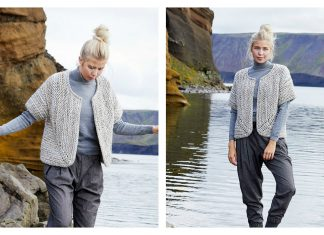 Jutka Cardigan Free Knitting Pattern