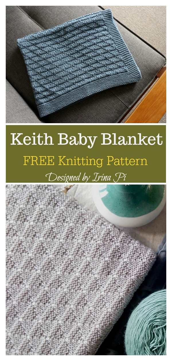 Keith Baby Blanket Free Knitting Pattern