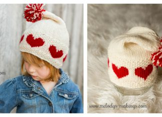 Love-ly Cap Knitting Pattern