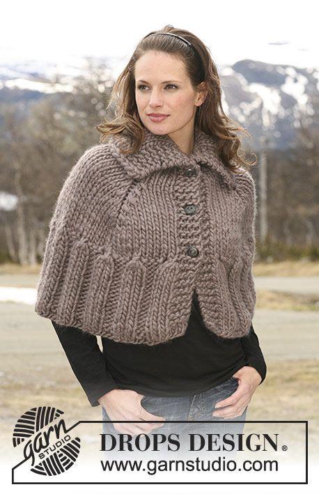 Novelette Capelet Free Knitting Pattern