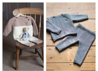 Oliver Baby Playsuit Free Knitting Pattern