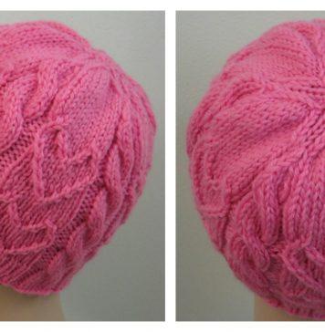Sweetheart Beanie Free Knitting Pattern