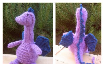 Tarragon Dragon Amigurumi FREE Knitting Pattern
