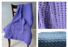 Waffle Baby Blanket Free Knitting PatternWaffle Baby Blanket Free Knitting Pattern