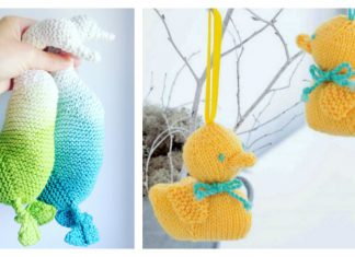 Amigurumi Duck Free Knitting Pattern