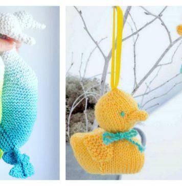 Amigurumi Duck Free Knitting Pattern