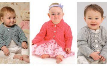 Baby Lace Cardigan Free Knitting Patterns