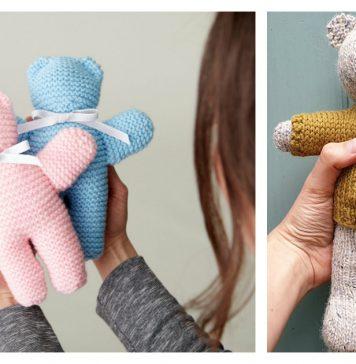 Buddy Bears Free Knitting Pattern
