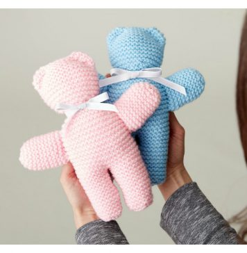 Buddy Bears Free Knitting Pattern