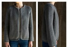 Classic Jacket Free Knitting Pattern