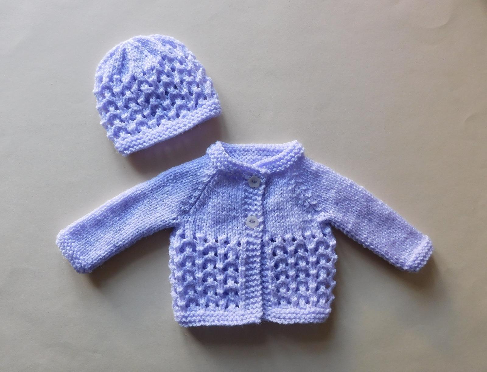Melika Baby Cardigan Jacket Free Knitting Pattern