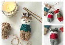 Forest Friends Amigurumi Free Knitting Pattern