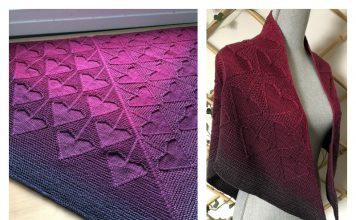Heartstrings Shawl Knitting Pattern