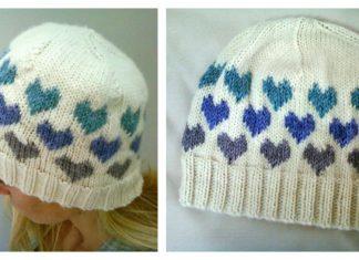 I Heart Hat Free Knitting Pattern
