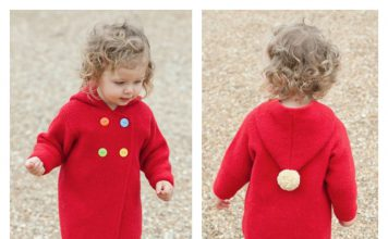 Plumpton Coat Free Knitting Pattern
