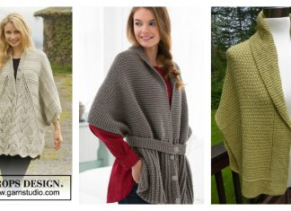 Sweater Wrap Free Knitting Pattern