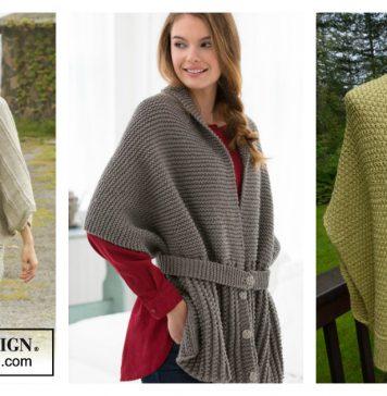 Sweater Wrap Free Knitting Pattern