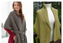 Sweater Wrap Free Knitting PatternSweater Scarf Free Knitting Pattern