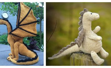 Tarragon Dragon Amigurumi FREE Knitting Pattern