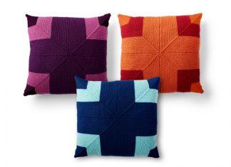 Big Statement Pillow Free Knitting Pattern