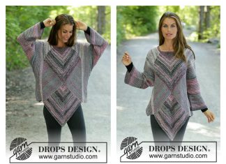 Diamond Cut Sweater Free Knitting Pattern