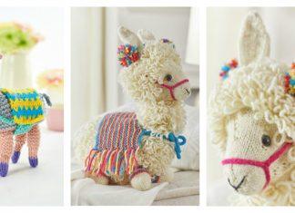 Drama Llama Amigurumi Free Knitting Pattern