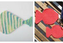 Fish Washcloth Free Knitting Pattern
